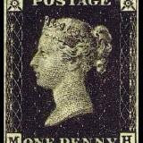 Bath Stamps Penny Black