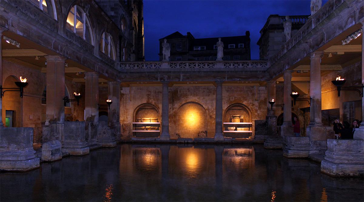 Roman Baths Night