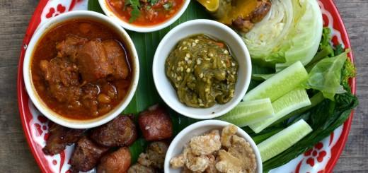 Lanna_cuisine_starters