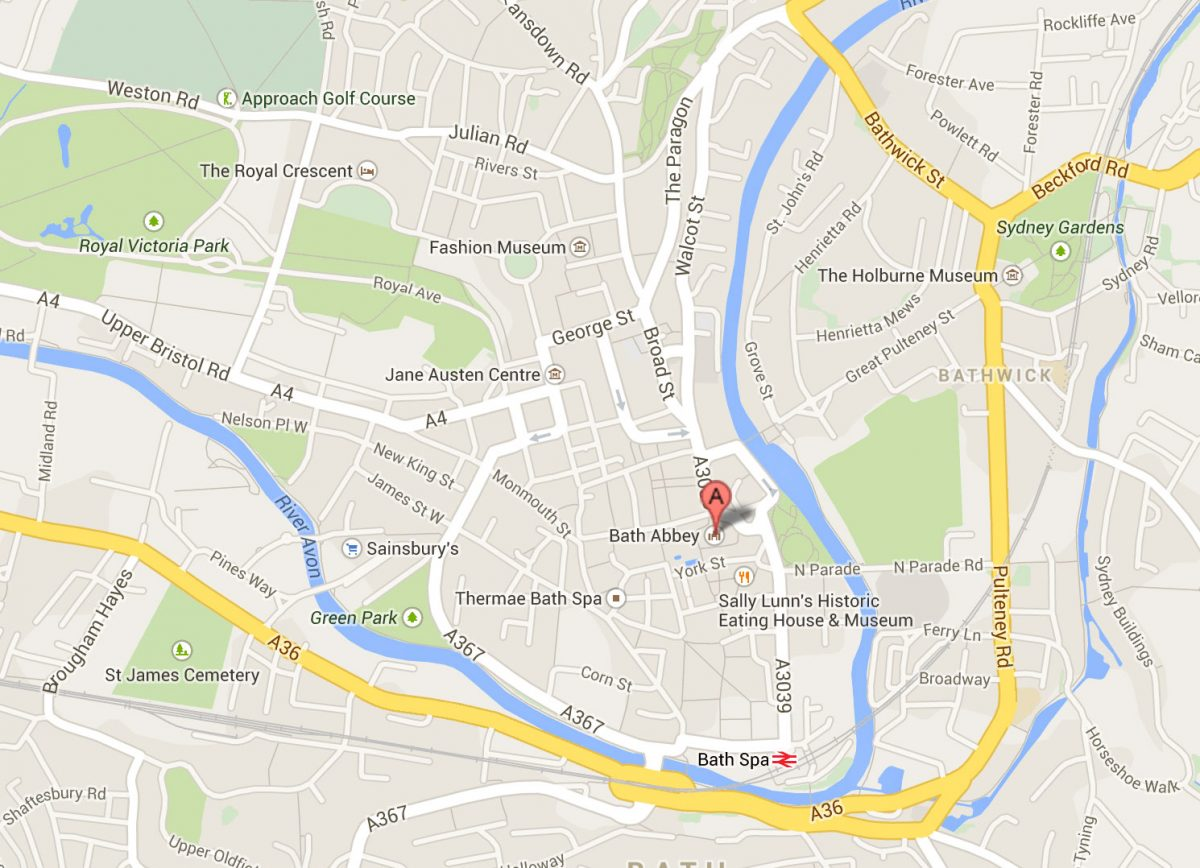 Maps Bath UK Tourism Accommodation Restaurants Whats On