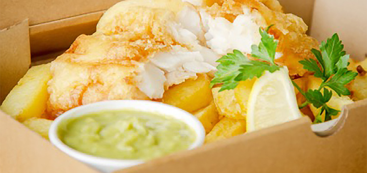 The Scallop Shell Fish & Chips Bath