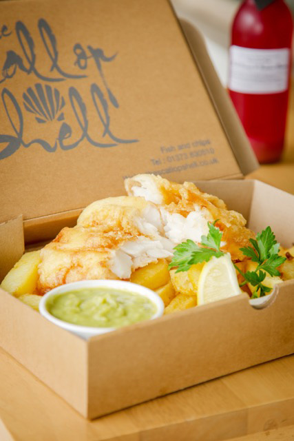 The Scallop Shell Bath Fish and Chips