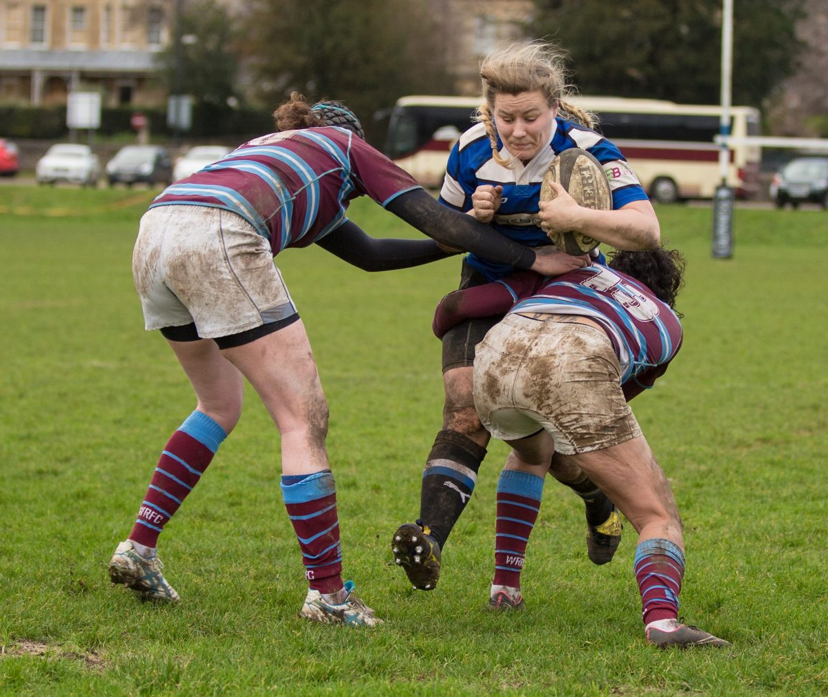 Captain Scores Hat-trick In Bath Rugby Ladies' Bonus-point