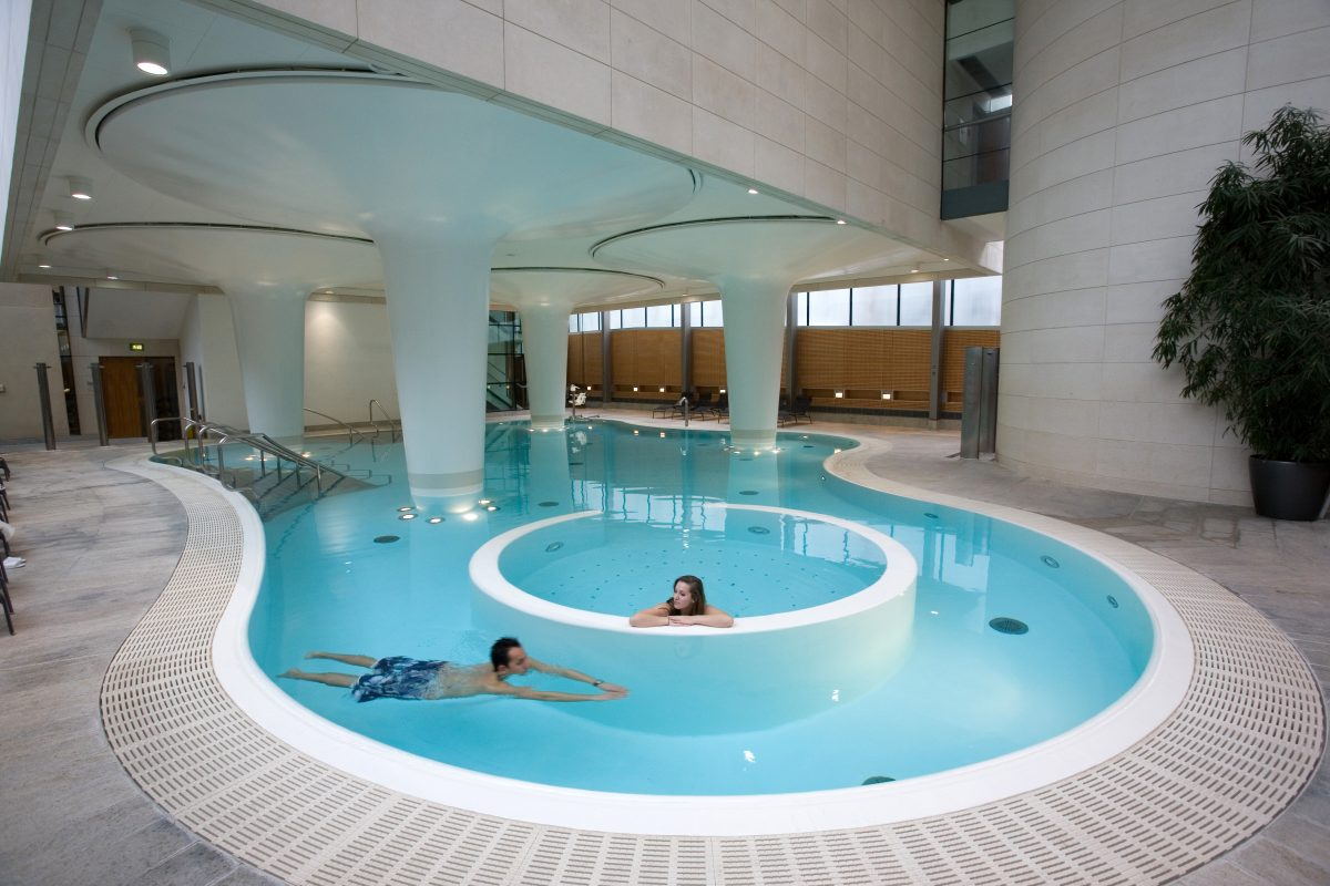 Tea for Two with Prosecco at the Thermae Bath Spa