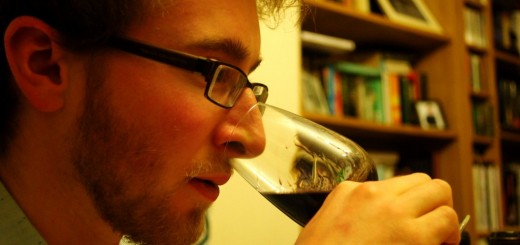 Tasting red wine - Ben Franks Wine