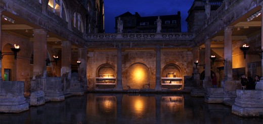 Roman Baths Night