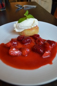 Summer Berry Savarin